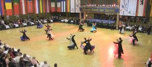 44. Blaues Band der Spree: mehr als 2700 Tanzpaare aus 13 Nationen gehen an den Start