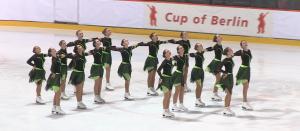 Synchroneiskunstlauf der Weltspitze gibt es alle 2 Jahre beim Cup of Berlin