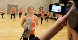 Produktion des Vorstellungsvideos: Dance Deluxe ist für den Amateursport-Preis 2016 nominiert!