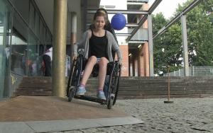 Wie ist es sich im Rollstuhl fortzubewegen? Über dieses und andere Themen will die Inklusions-Woche Pankow aufklären.