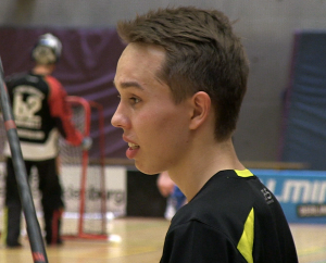 Youngster Jakob Bestgen vom BAT Berlin wurde zum Spieler des Spiels gewählt
