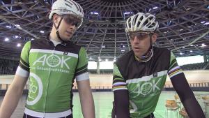 Ein starkes Team: Kai Kristian Kruse und sein Tandem-Partner Stefan Nimke