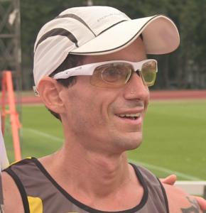 Der glückliche Sieger vom Mauerweglauf 2015: Marco Bonfiglio