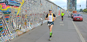 Der Mauerweglauf 2016 - rund 161 Kilometer immer entlang des ehemaligen Berliner Mauerwegs