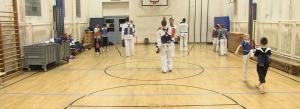 In den Hallen von seinem Heimatverein, Taekwondo Elite Berlin, bereitet sich Mohammed Mansour auf die EM in Lettland vor