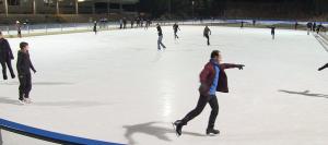 Das Horst-Dohm-Eisstadion: einer von vielen Trainingsorten beim SCC Berlin Eiskunstlauf