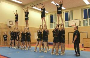 Scorpions Cheerleading Berlin - ein eingespieltes Team