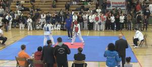 Austragungsort vom Taekwondo-Cup 2015 - die Sporthalle Schöneberg