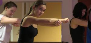 Tanzen beim Tanzverein 90 Berlin: Jazz und Modern Dance sind die Schwerpunkte.