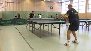 Tischtennis beim BTTC Meteor in Berlin-Mitte