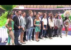 Team Berlin Rio im Olympiastadion empfangen