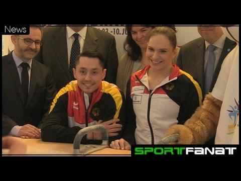 Olympiahelden freuen sich auf Turnfest in Berlin