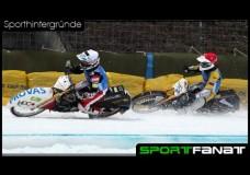 Eisspeedway – Motorräder auf dem Eis