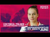 Viktoria Folger – Nachwuchssportler des Monats Juni 2019