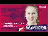 Johanna Schikora – Nachwuchssportlerin des Monats Februar 2020