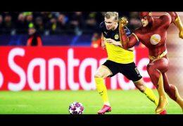 Erling Haaland – schneller als Usain Bolt?