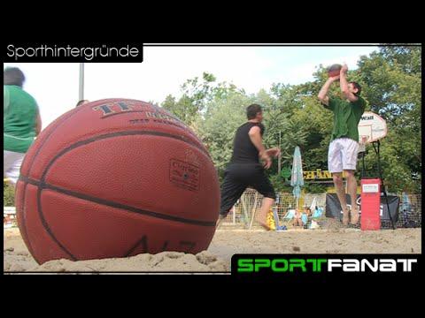 Beachbasketball – aus der Halle, an den Strand