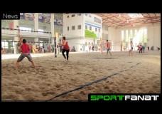 Größte Beachvolleyball-Halle Europas in Berlin eröffnet