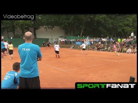 Speed Badminton Weltmeisterschaft in Berlin 2013