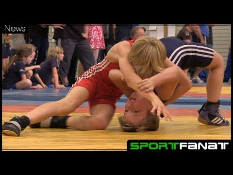 Klein Olympia im Ringen 2014