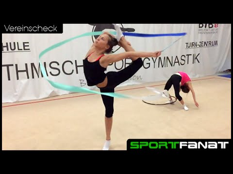 Rhythmische Sportgymnastik beim Berliner TSC