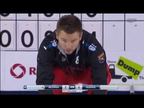 Toller Curling Spielzug