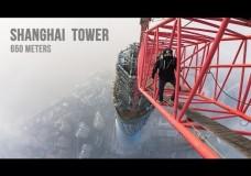 Die Besteigung des Shanghai Towers