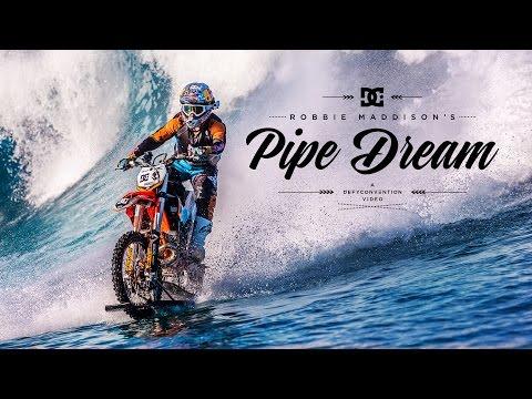 Mit dem Motorrad auf dem Wasser
