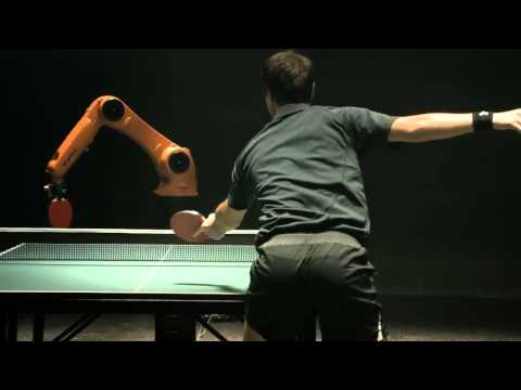 Tischtennis: Wetten wer gewinnt – Mensch oder Maschine