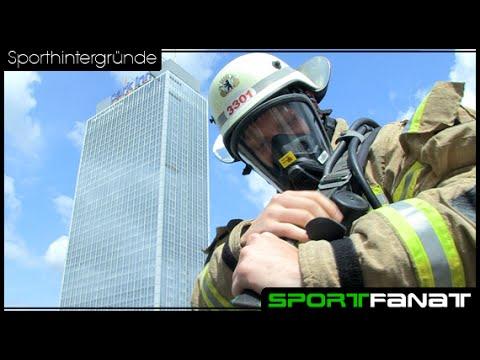 Firefighter Stairrun – zu Fuß in die 39. Etage des Park Inn Hotel