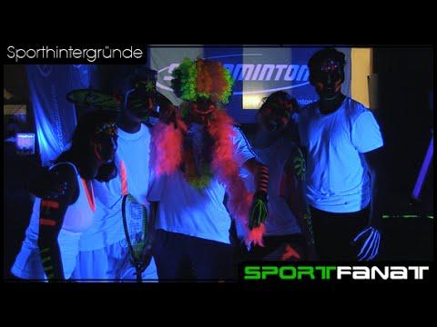 Blackminton – Sport unter Schwarzlicht