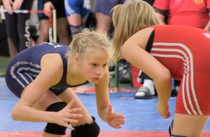 Mif fast 400 Telnehmerinnen gab es eine Rekordkulisse beim 10. Internationalen Frauenringturnier in Berlin