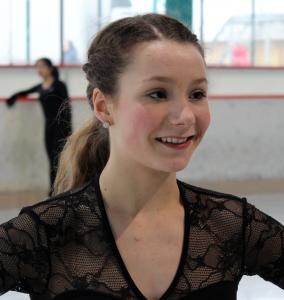 Eiskunstläuferin Annika Hocke ist Nachwuchssportler des Monats März 2016