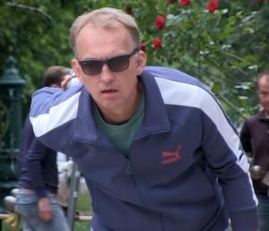 Thorsten Beckmann ist Präsident beim 1. BC Kreuzberg