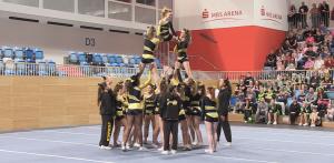 Pyramiden beid er BBCM 2015 - eines von vielen Elementen beim Cheerleading
