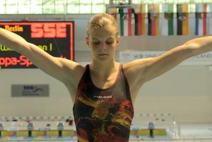 Wasserspringerin Christina Wassen vom Berliner TSC ist Nachuwchssportler des Monats Juli 2016