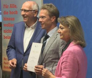 Zahlreiche ehrenamtliche Helfer wurden auf der Ehrenamtsgala des Landessportbund Berlin ausgezeichnet