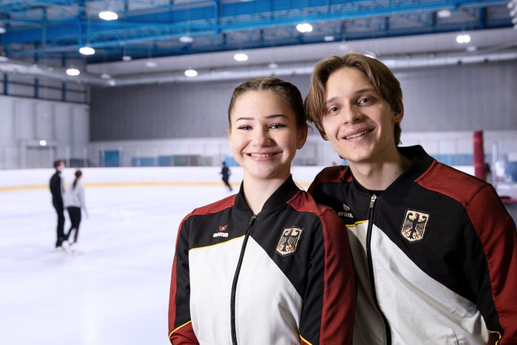 Lea Enderlein und Malte Brandt