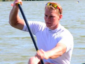Kanute Marcus Groß - sein Ziel sind die Olympischen Spiele 2016 in Rio