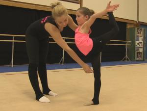 Ab einem Alter von 5 Jahren kann man Rhythmische Sportgymnastik beim Berliner TSC betreiben