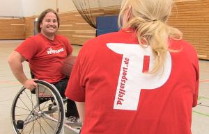 Leidenschaft und Spaß - Rollstuhlbasketball beim SV Pfefferwerk