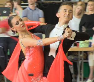 Vertraten Berlin beim 17. Summer Dance Festival: Roman Miller und Melanie Klein vom btc Grün-Gold