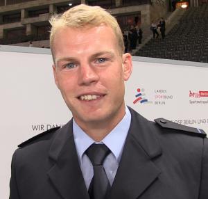 Kanute Marcus Groß brachte gleich 2 Goldmedaillen für das Team Berlin Rio mit nach Hause
