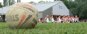 16 Teams aus 7 Nationen nahmen am Capital Cup 2016 im Touch Rugby teil