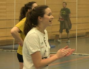 Spaß ist immer beim Training dabei: Volleyball beim VC Rotation Mitte
