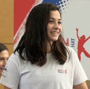 """""""Der Sport hat mein Leben gerettet!"""" - Yusra Mardini zu Gast bei Berlin hat Talent"""