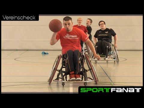 Rollstuhlbasketball beim SV Pfefferwerk