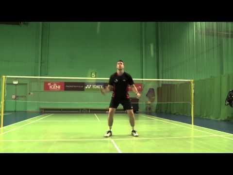 Badminton Jonglage