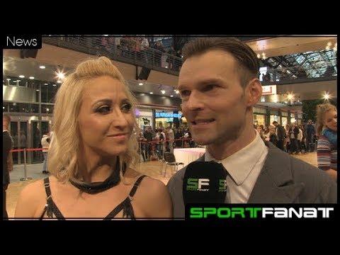 """Kathrin Menzinger und Vadim Garbuzov bei """"Tanzen in den Borsighallen"""""""