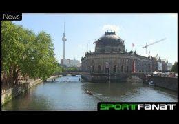 Rudern durch die Berliner Innenstadt